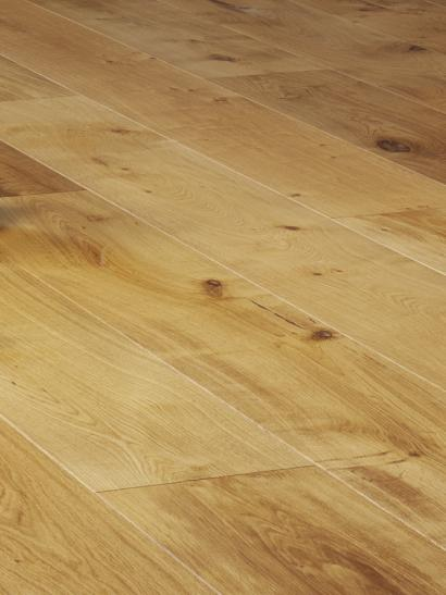 Oak, rustic, natural oiled engineered wooden flooring