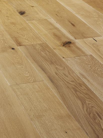 Oak, brushed, rustic, UV oiled engineered wooden flooring