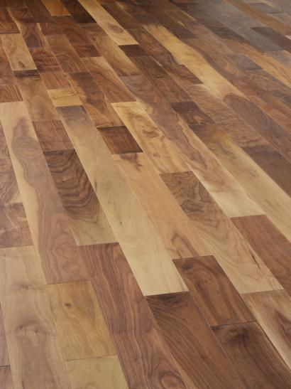Walnut, UV oiled, engineered, wooden flooring